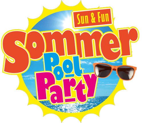Zephyrus Sommer Pool Party Logo